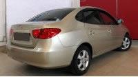Hyundai Elantra IV, вид сзади