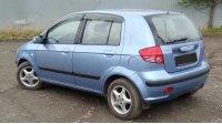 Hyundai Getz 2003, вид сзади