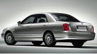 Hyundai Grandeur III, вид сзади