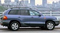 Hyundai Santa Fe I, вид сбоку