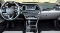 Hyundai Sonata VII, место водителя