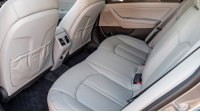 Hyundai Sonata VII, задние сиденья