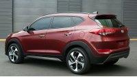 Hyundai Tucson III, вид сзади
